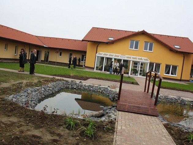 Senior park v Rychvaldě.