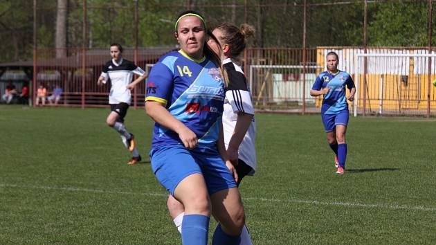 Havířovské fotbalistky doma po více než třech letech prohrály.