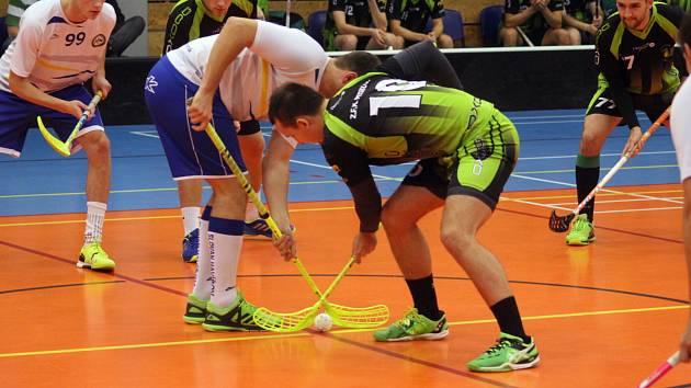 Florbalisté Petrovic ani havířovského Slovanu se o víkendu výhry nedočkali.