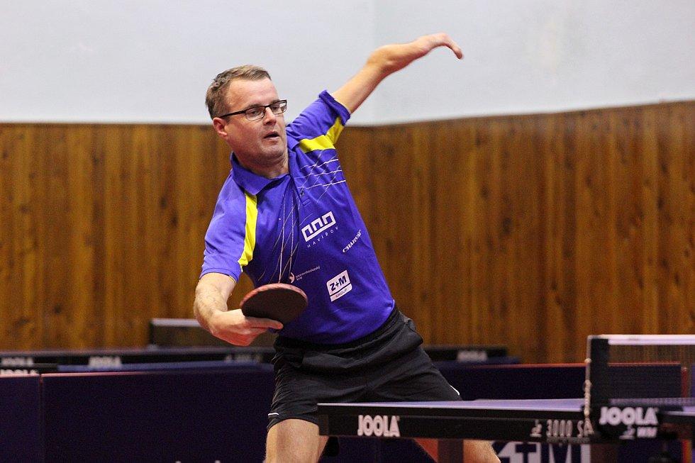 Ivan Karabec - paralympijský reprezentant v ping pongu.