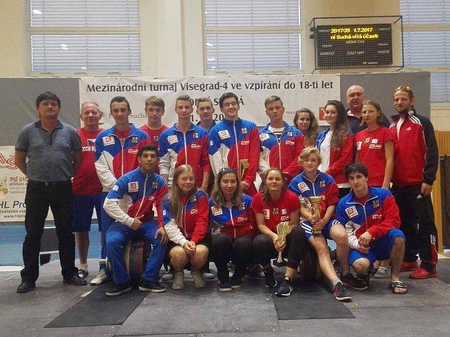 Česká juniorská reprezentace.