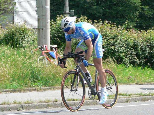 Tomáš Celta - absolutní vítěz závodu.