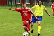 Ivo Kisel (vpravo) byl o víkendu jedním ze tří stonavských střelců.