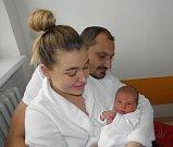 Amálie Trojková se narodila 14. ledna mamince Soni Švancarové z Karviné. Po narození Amálka vážila 3055 g a měřila 48 cm.