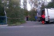 Policisté vytáhli mrtvého muže z havířovské říčky Sušanky.