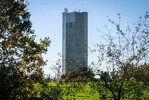 Těžní věž bývalého dolu František v Horní Suché