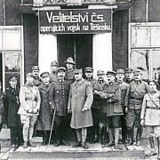 Vojenské velení čsl. vojsk na Těšínsku.
