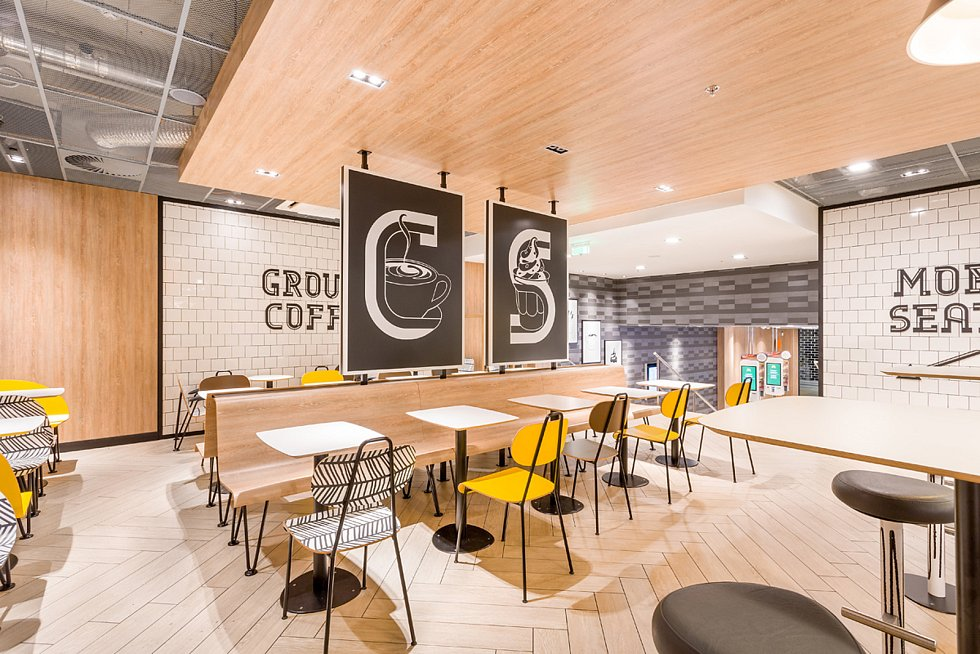 V Havířově bude ještě do léta uvedena do provozu restaurace rychlého občerstvení McDonald´s. Design Alphabet