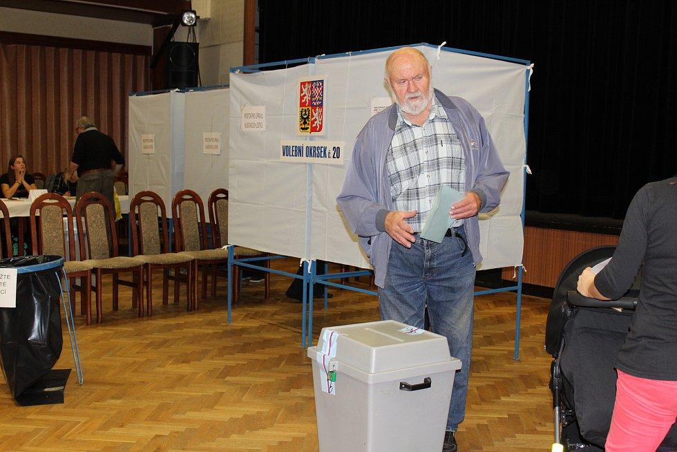 Volby do Poslanecké sněmovny Parlamentu ČR v Havířově.