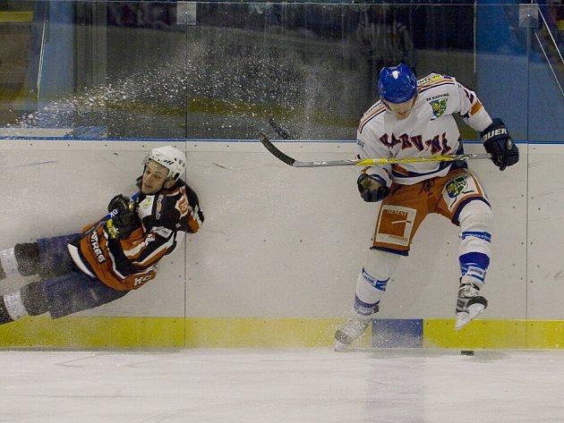 Hokejisté SK Karviná se po další porážce propadli na dno tabulky.