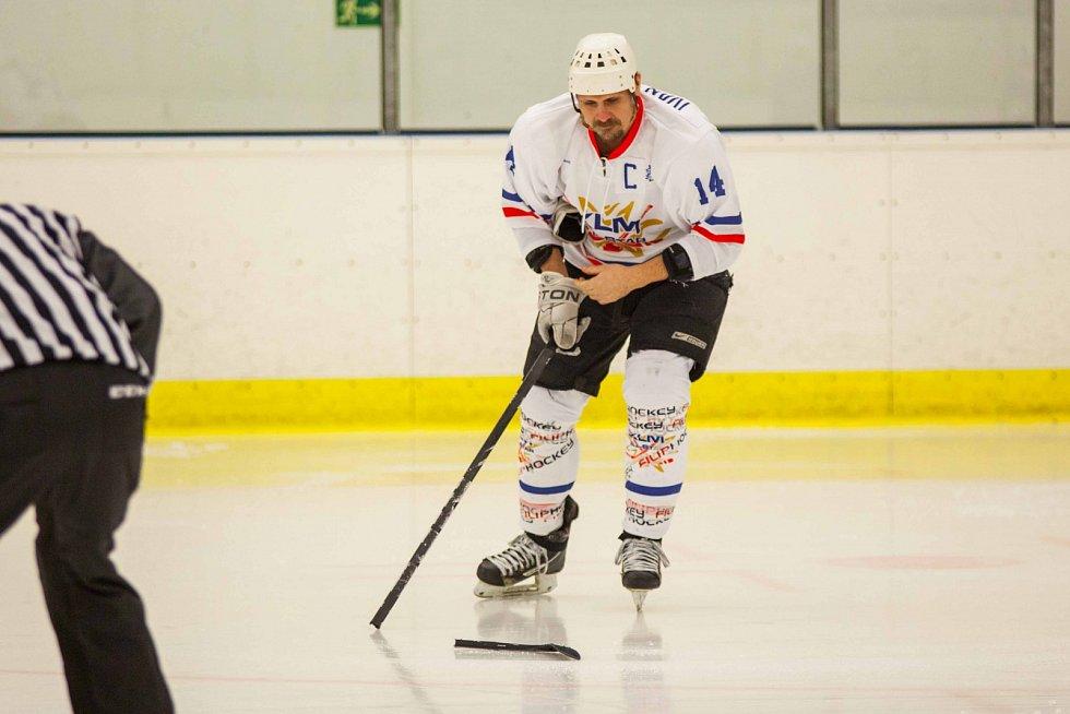 Kapitán Západu Marek Ivan byl v utkání hodně vidět.