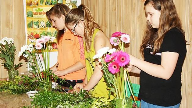 Soutěž mladých floristů.