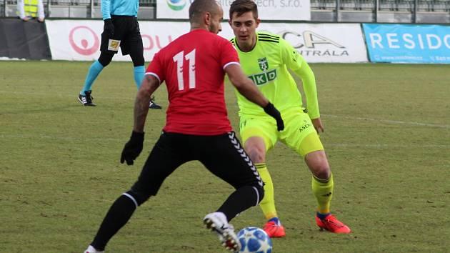 Michal Faško (v zelenkavém) věří, že v Karviné herně pookřeje.