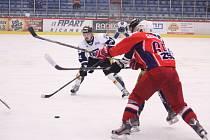 Hokejisté Havířova (v bílém) porazili dalšího silného soupeře.