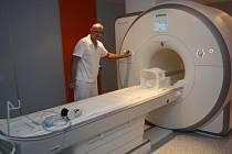 Magnetická rezonance.