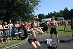 CrossFit závody Superior 14 Summer Games 2015 na letním koupališti v Havířově