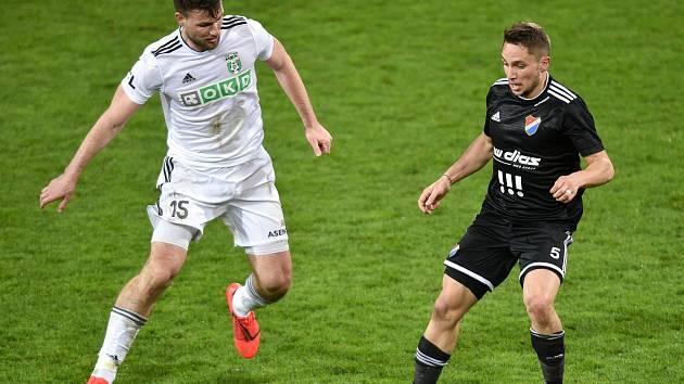 Tomáš Wágner (vlevo) si v letošní sezoně vytvořil kariérní maximum. Jedenáct ligových gólů za sezonu ještě nedal.