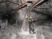 Podzemí Karvinska je doslova prošpikováno důlními chodbami, a to v několika patrech nad sebou. Nejsou to přitom žádné nízké štoly, ale široké a vysoké tunely s kolejovou nebo závěsnou dopravou, pásovými dopravníky a množstvím potrubí.