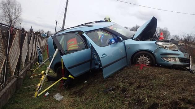 Nehoda v Dětmarovicích