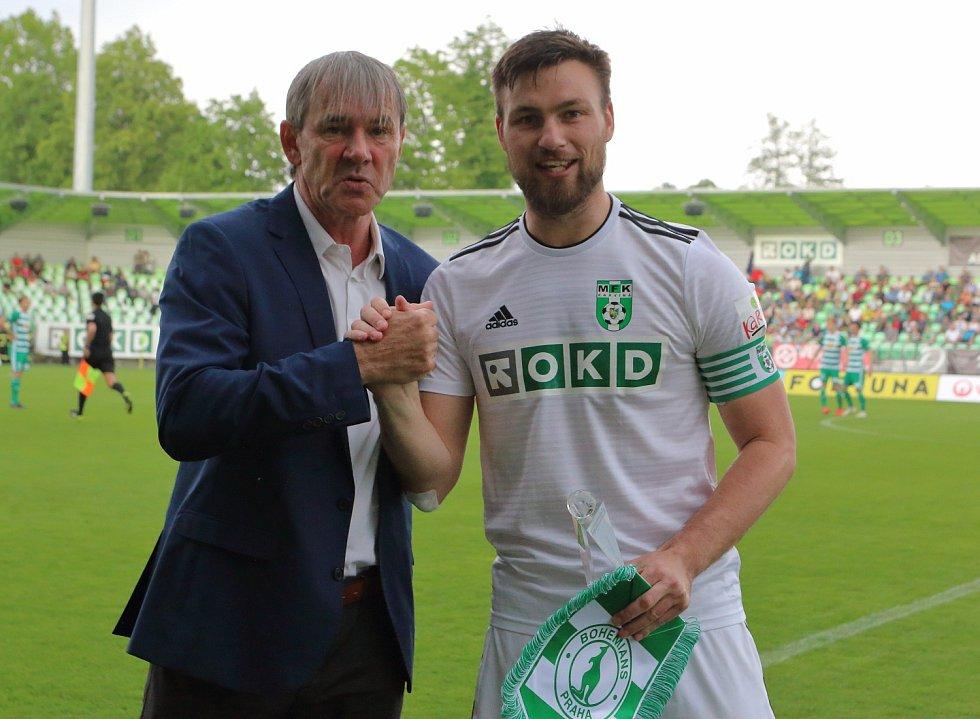 Hráčem měsíce dubna FORTUNA:LIGY se stal Tomáš Wágner.