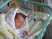 Sebastiánek se narodil 2. ledna paní Andree Sobolové z Karviné. Po narození chlapeček vážil 3350 g a měřil 51 cm.