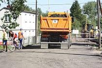 Rekonstrukce Fryštátské ulice v Havířově.