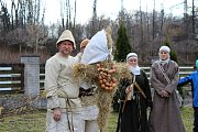 Vynášení Morany v Petrovicích u Karviné.