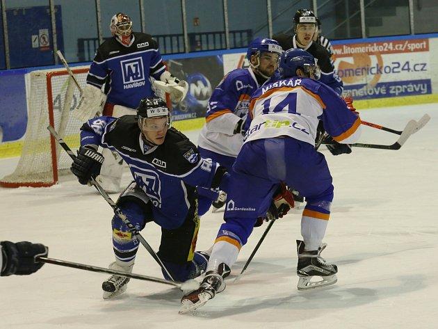 Havířovští hokejisté chtějí do první osmičky. Pokud nehodlají končit už v únoru, tak musí.