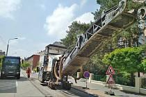 V Bohumíně letos probíhají opravy několika ulic.