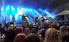 V Českém Těšíně se o víkendu konaly oslavy Svátku tří bratří. Pestrému programu dominovala hudební vystoupení.