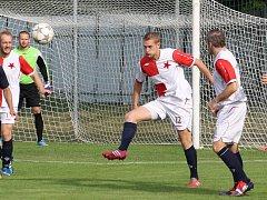 Orlovští fotbalisté konečně dali víc než jeden gól.