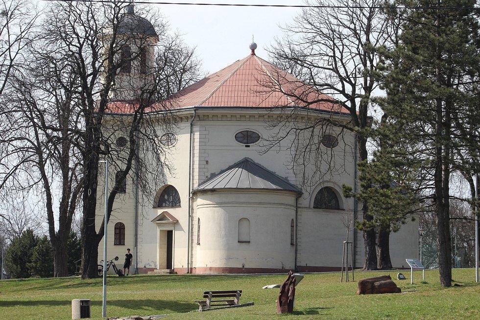 Petřvald. Kostel sv. Jinřicha.
