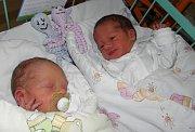 Dvojčátka Nikolas a Karolínka Pławiak se narodila 5. března mamince Denise Svobodové z Karviné. Po narození chlapeček vážil 2700 g a měřil 48 cm, jeho sestřička Karolínka vážila 2390 g a měřila 48 cm. Doma se na dvojčátka těší bráška Lukáš.