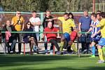 Derby Albrechtice - Stonava (ve žlutém) dopadlo smírně.