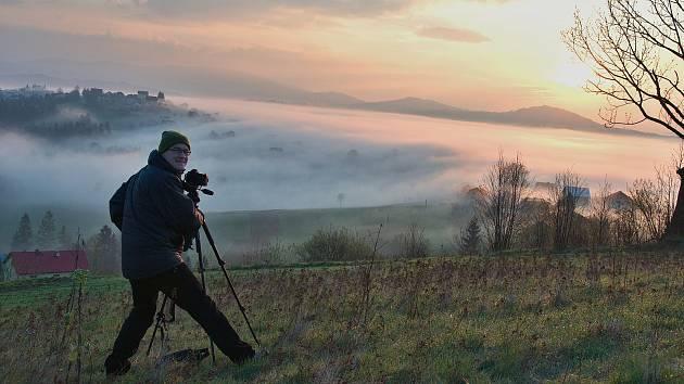 Martin Podžorný, cestovatel, fotograf a astronom. 30 let je vedoucím Těšínské hvězdárny.  Foto: archiv Martina Podžorného