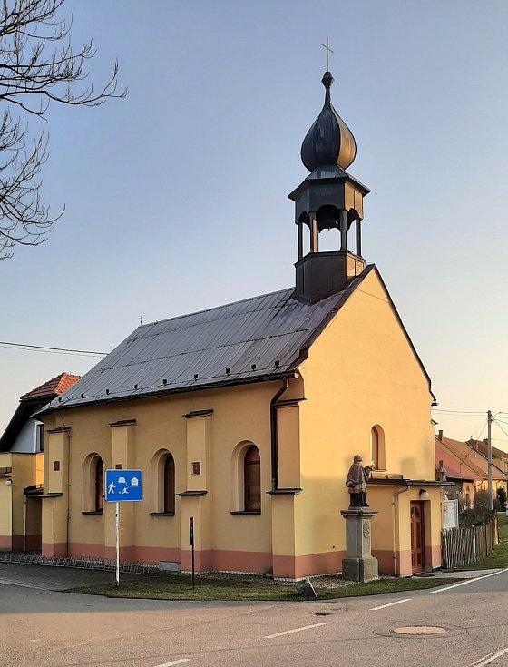 Věřňovice, kostel