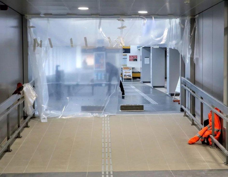 Pro cestující v Havířově se otevřely nové odbavovací prostory. Pramen: Správa železnic
