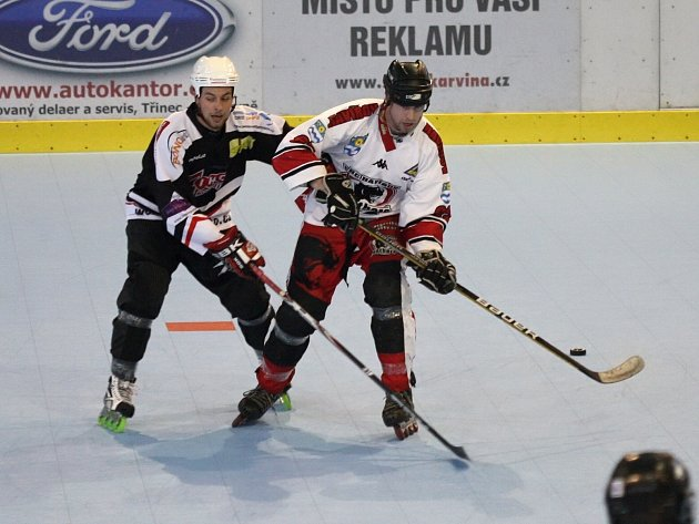 In line hokejisté Havířova doma prohráli.