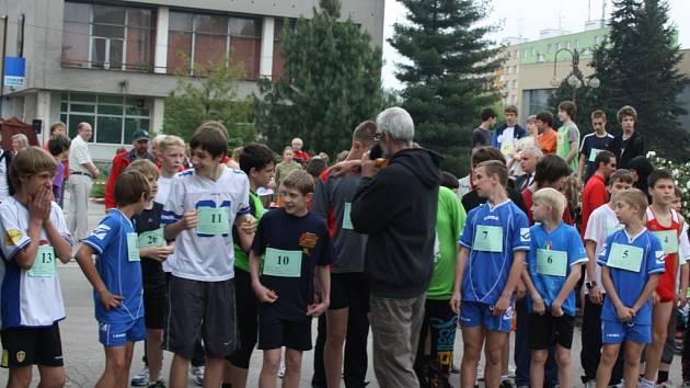 Běh 3. května se tentokrát v Orlové konal v pátek 4. května.