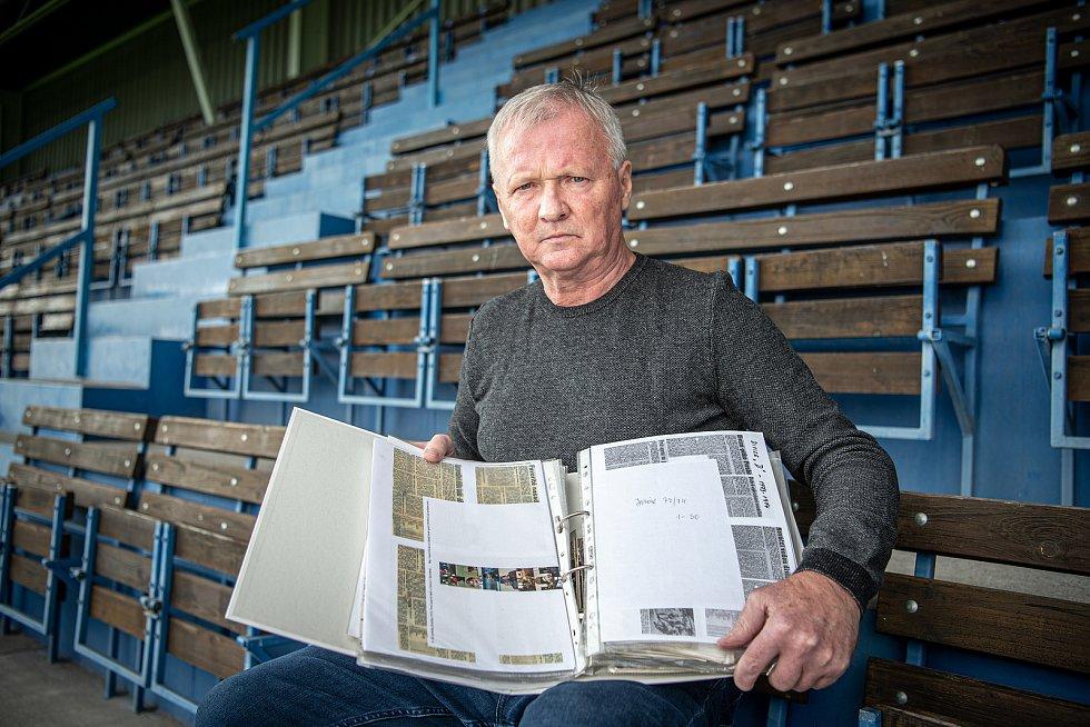 Předseda MFK Havířov připravuje na rok 2022 almanach fotbalového Havířova.