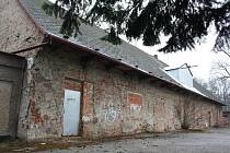 Bývalá zámecká konírna v Karviné.