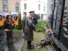 Připomenutí 99. výročí vzniku Československa v Havířově.