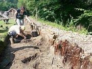 Archeologové v Bohumíně.