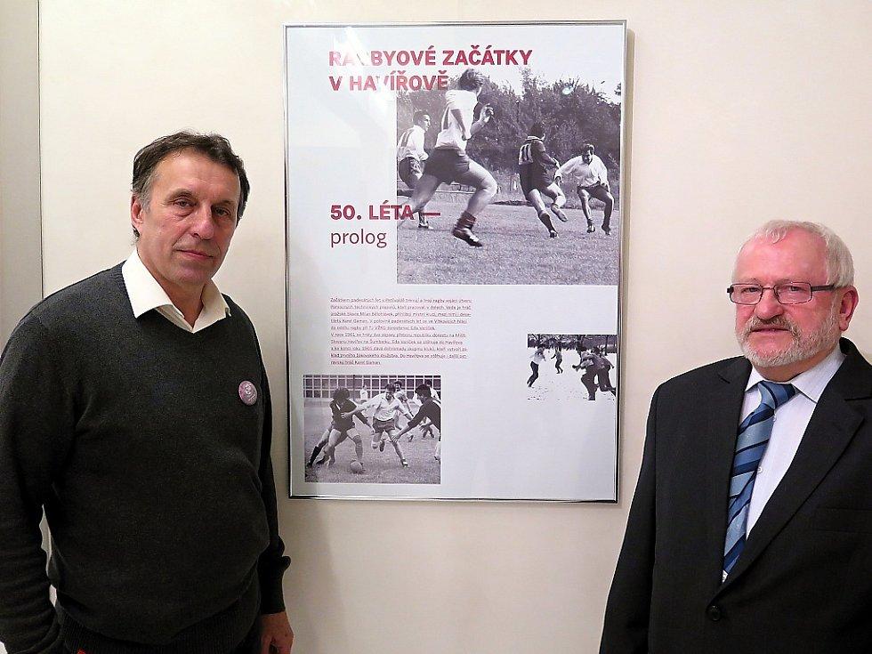 Radomír Kloda (vlevo) a Karel Gaman.