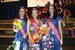 Novou Miss Orlová je třináctiletá Terezie Alvarézová. (uprostřed).