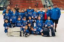 Orlovské děti mají hokej rády.