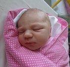 Markéta Neumanová z Chotěbuze se narodila 28. června v Třinci. Měřila 52 cm a vážila 3980 g.