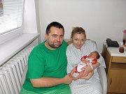 Deniska se narodila 2. července mamince Kateřině Michnáčové z Karviné. Po porodu dítě vážilo 2990 g a měřilo 47 cm.