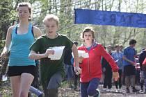 Školní orientační běh v Havířově.