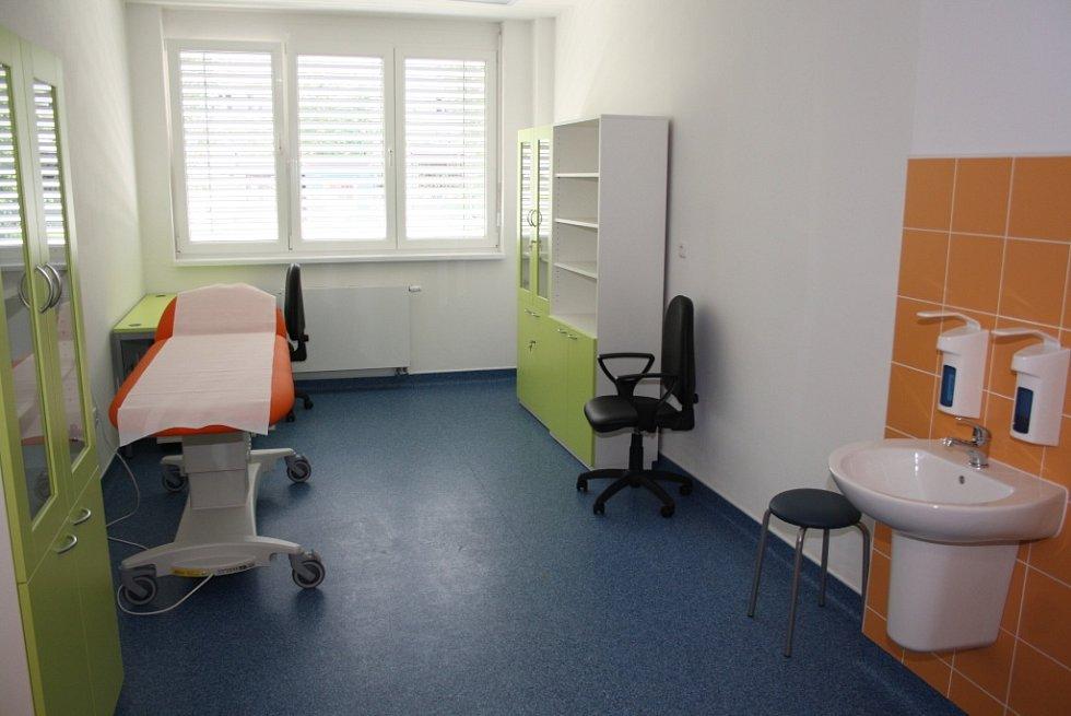 Infekční oddělení v havířovské nemocnici.